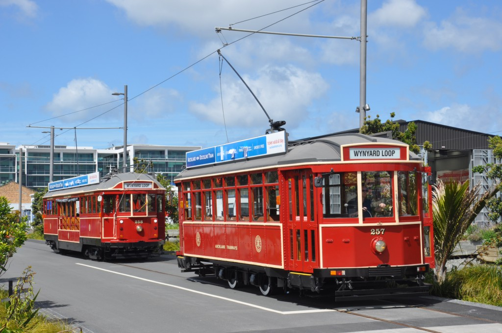 Wynard trams - ready to roll. (photo Albert Chan)