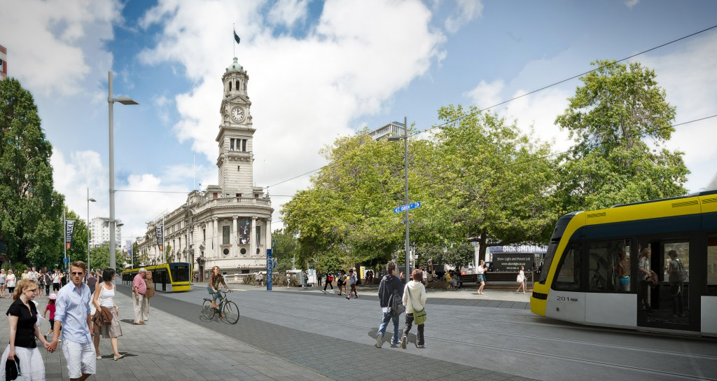 Everyone loves a comeback - trams set to make a 21st century return to Queen Street