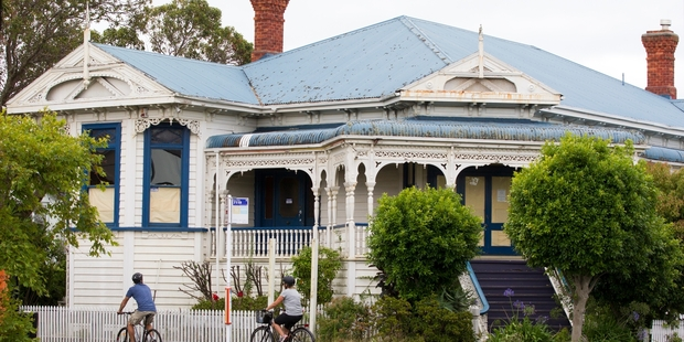 The beautiful Erewan Victorian villa in Jervois Road, Herne Bay. (1905-2015),  Photo Jason Oxenham NZ Herald.